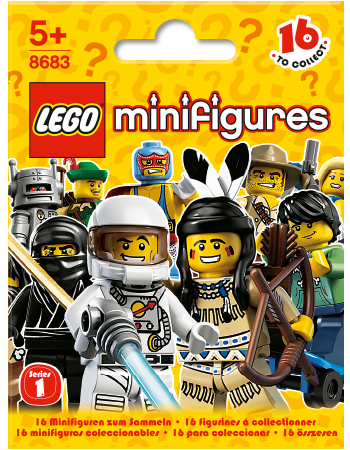 Buy LEGO Minifigures Series 1