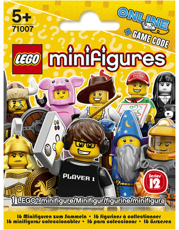 Buy LEGO Minifigures Series 12