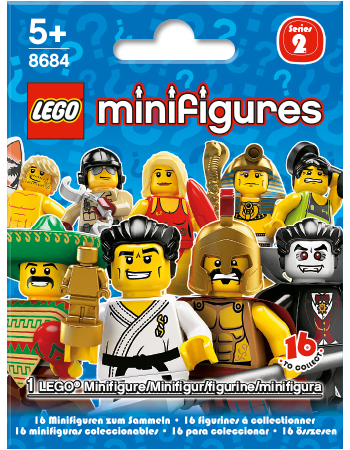 Buy LEGO Minifigures Series 2