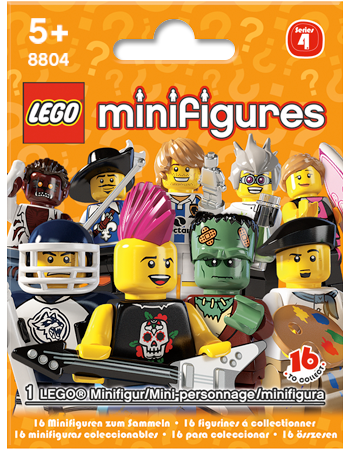 Buy LEGO Minifigures Series 4
