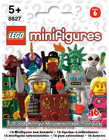 Buy LEGO Minifigures Series 6