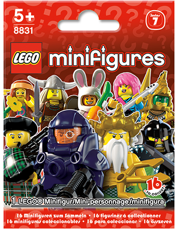Buy LEGO Minifigures Series 7