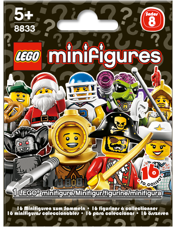 Buy LEGO Minifigures Series 8