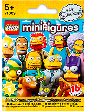 Buy Simpsons Series 2 LEGO Minifigures Series 13