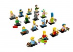 LEGO Simpsons Minifigures Complete Collection 16 Minifigures