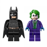 Batman and The Joker Heath Ledger LEGO Minifigures 76023