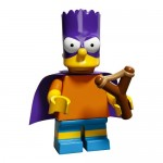 LEGO Simpsons Series 2 Minifigures Bart as Bartman