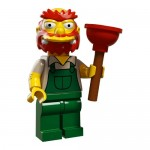LEGO Simpsons Series 2 Minifigures Groundskeeper Willie