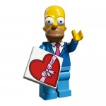 LEGO Simpsons Series 2 Minifigures Homer in Best Suit and Tie