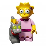 LEGO Simpsons Series 2 Minifigures Lisa with Snowball 2