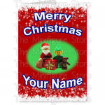 Merry Christmas Santa Elf Name 1