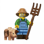 Farmer Series 15 LEGO Minifigures
