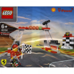 Shell Finish Line and Podium 40194 LEGO Polybag