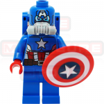 Space Captain America  Marvel LEGO Minifigures 76049