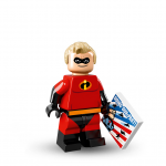 Mr Incredible Robert Parr - Disney Pixar Series 1 LEGO Minifigures