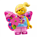 Butterfly Girl - Series 17 LEGO Minifigure