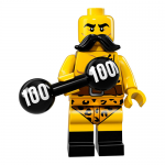 Circus Strong Man - Series 17 LEGO Minifigure