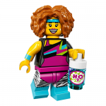 Dance Instructor Series 17 LEGO Minifigure