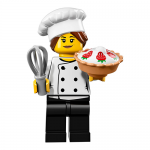 Gourmet Chef - Series 17 LEGO Minifigure