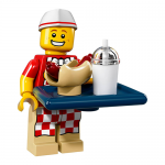 Hot Dog Man - Series 17 LEGO Minifigure