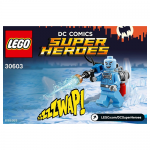 Mr Freeze Classic  Limited Edition DC LEGO Minifigures Polybag 30603