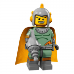 Retro Spaceman - Series 17 LEGO Minifigure