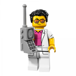 Yuppie - Series 17 LEGO Minifigure