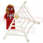 Spider Girl With Web Marvel LEGO Minifigures 76057