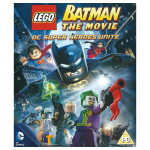 DC Comics Batman The Movie DC Super Heores Unite Blu-Ray