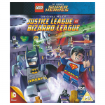 DC Comics Justice League vs Biazrro League Blu-Ray