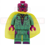 Vision Marvel Civil War LEGO Minifigures 76051, 76067