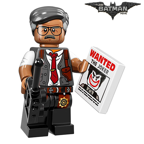 Commissioner James Gordon The LEGO Batman Movie Series LEGO Minifigures 71017