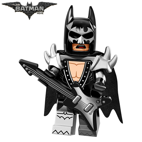 Glam Metal Batman The LEGO Batman Movie Series LEGO Minifigures 71017