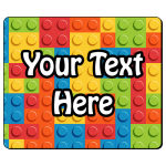 Personalised Rectangle Brick Mousemat