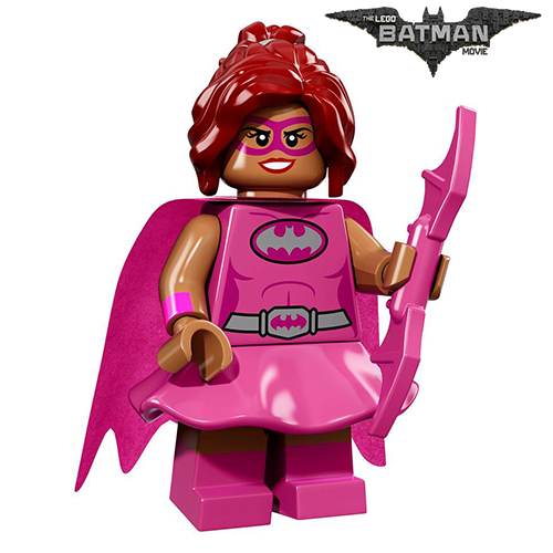 Pink Power Batgirl The LEGO Batman Movie Series LEGO Minifigures 71017