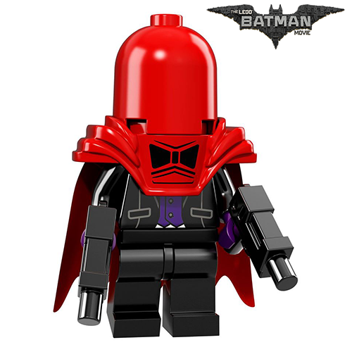 Red Hood The LEGO Batman Movie Series LEGO Minifigures 71017
