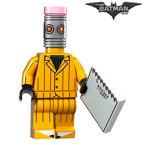 The Eraser The LEGO Batman Movie Series LEGO Minifigures 71017
