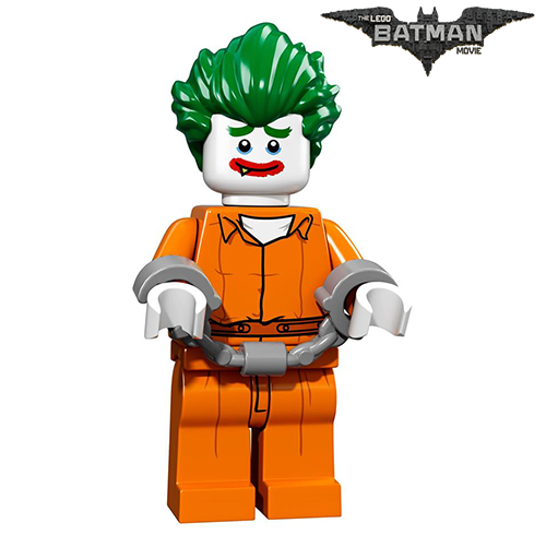 The Joker – Arkham Asylum The LEGO Batman Movie Series LEGO Minifigures 71017
