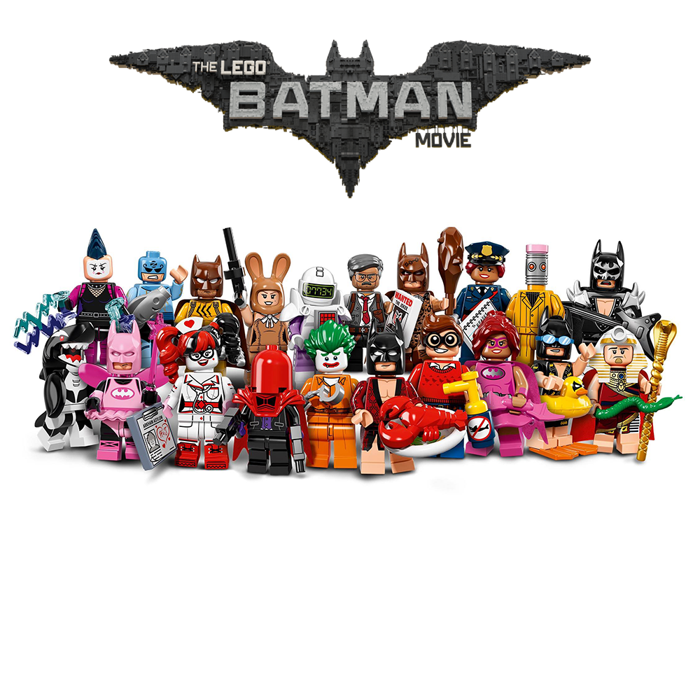 The LEGO Batman Movie Series Complete Collection 20 LEGO Minifigures 71017
