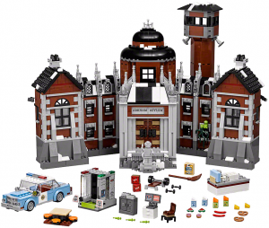 Arkham Asylum Psychiactric Hospital LEGO Batman Movie Set 70912 No LEGO Minifigures
