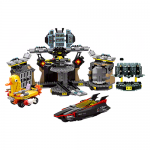 Batmans Batcave with Duckmobile Rotating Wardrobe and Batboat LEGO Set 70909 No LEGO Minifigures