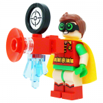 Dick Grayson Robin With Phantom Zone Projector LEGO Batman Movie LEGO Minifigures 70912