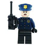 GCPD Male Officer LEGO Batman Movie LEGO Minifigures 70912