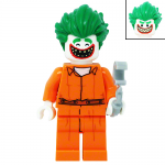 The Joker in Arkham Suit LEGO Batman Movie LEGO Minifigures 70912