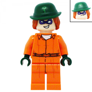 The Riddler in Arkham Suit LEGO Batman Movie LEGO Minifigures 70912