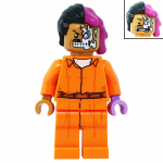 Two Face in Arkham Suit LEGO Batman Movie LEGO Minifigures 70912