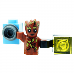 Baby Groot Marvel Guardians of the Galaxy LEGO Minifigures 76081