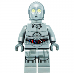 C-3PO Silver Protocol Droid Limited Edition Star Wars LEGO Minifigures 75146