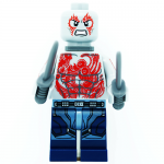 Drax Marvel Guardians of the Galaxy LEGO Minifigures 76081