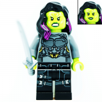 Gamora Marvel Guardians of the Galaxy LEGO Minifigures 76081